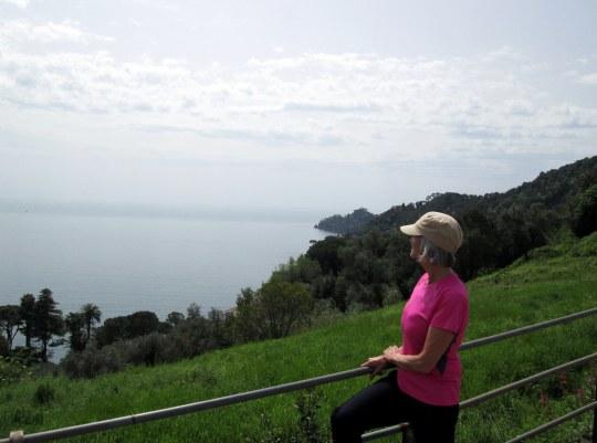 Le parc de Portofino est un merveilleux endroit pour la randonnée pédestre.
