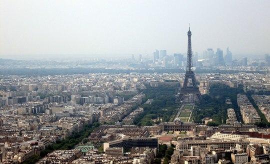 Paris photographié par Lise du haut de la tour Montparnasse.