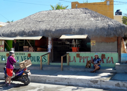La fruiterie La Pita Maya.