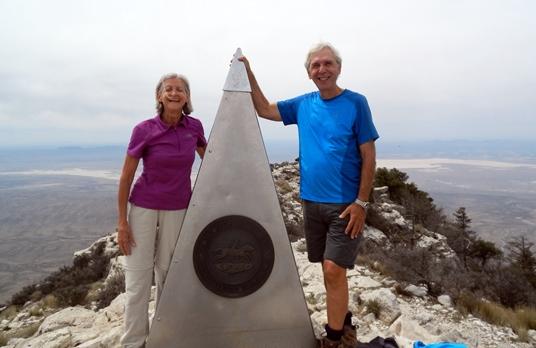 Le Guadalupe Peak est le plus haut sommet du Texas.