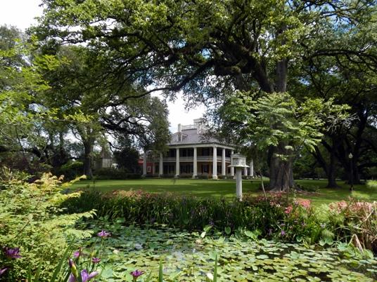 La Houmas House a appartenu, dans ses heures de gloire, à des barons du sucre.