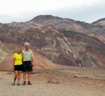 Au Badwater Basin, dans la Vallée de la Mort.