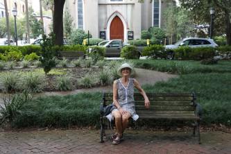 Lise à Savannah.