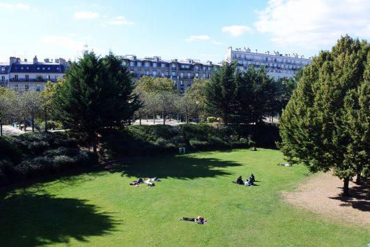 Le jardin de Reuilly dans le 12e arrondissement.